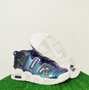 Nike Air More Uptempo Iridescent Purple GS Sneaker
